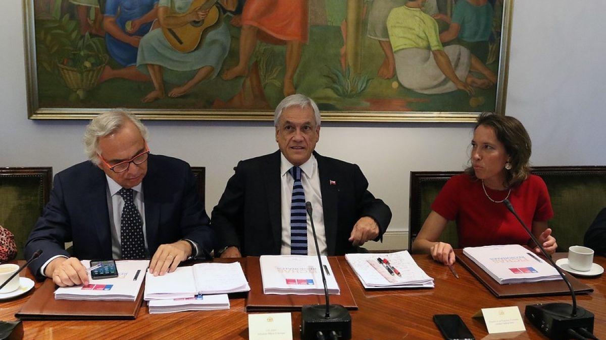 Piñera en Consejo de Gabinete: Estoy convencido que el 2018 fue un buen año para Chile