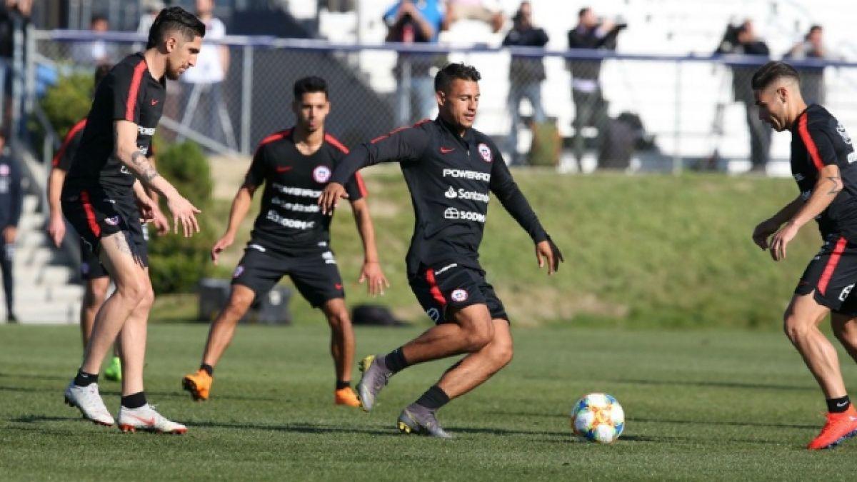 VIDEO  Así fue el primer entrenamiento de La Roja en San Diego para  amistosos 00bcf8f9fc0bd