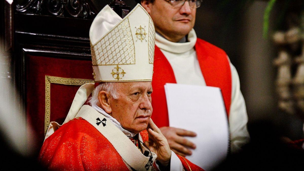Papa Francisco acepta la renuncia del cardenal Ezzati y nombró un nuevo administrador apostólico