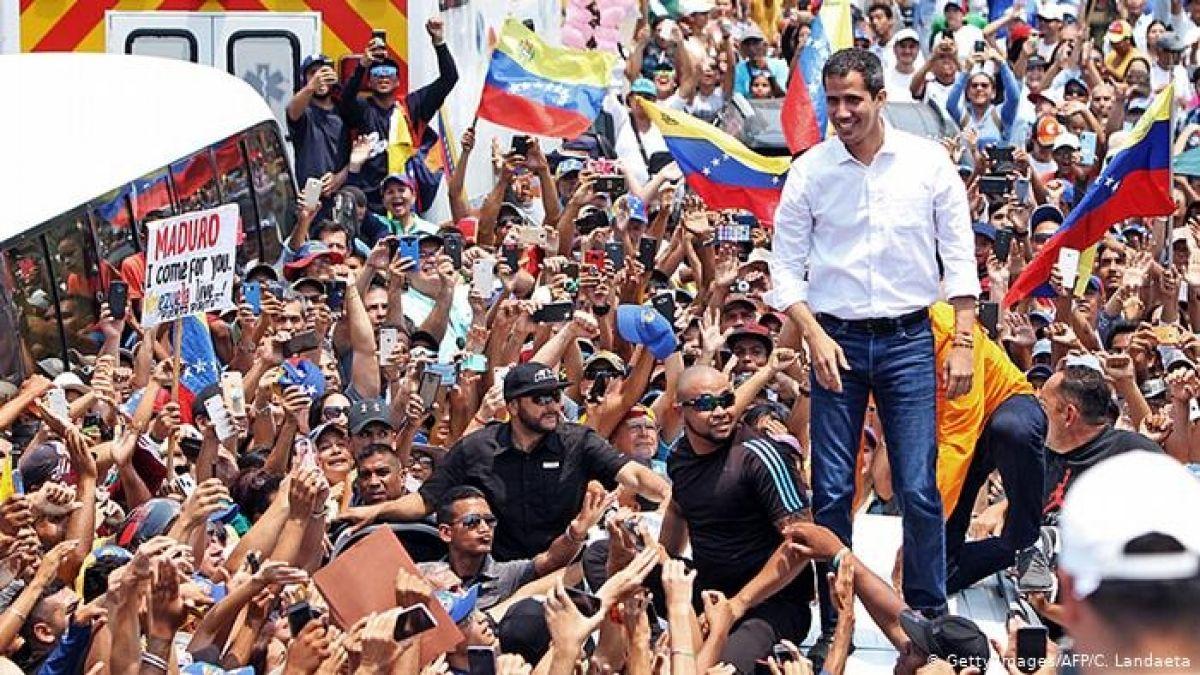 Maduro acusa a Guaidó de un supuesto complot para asesinarlo