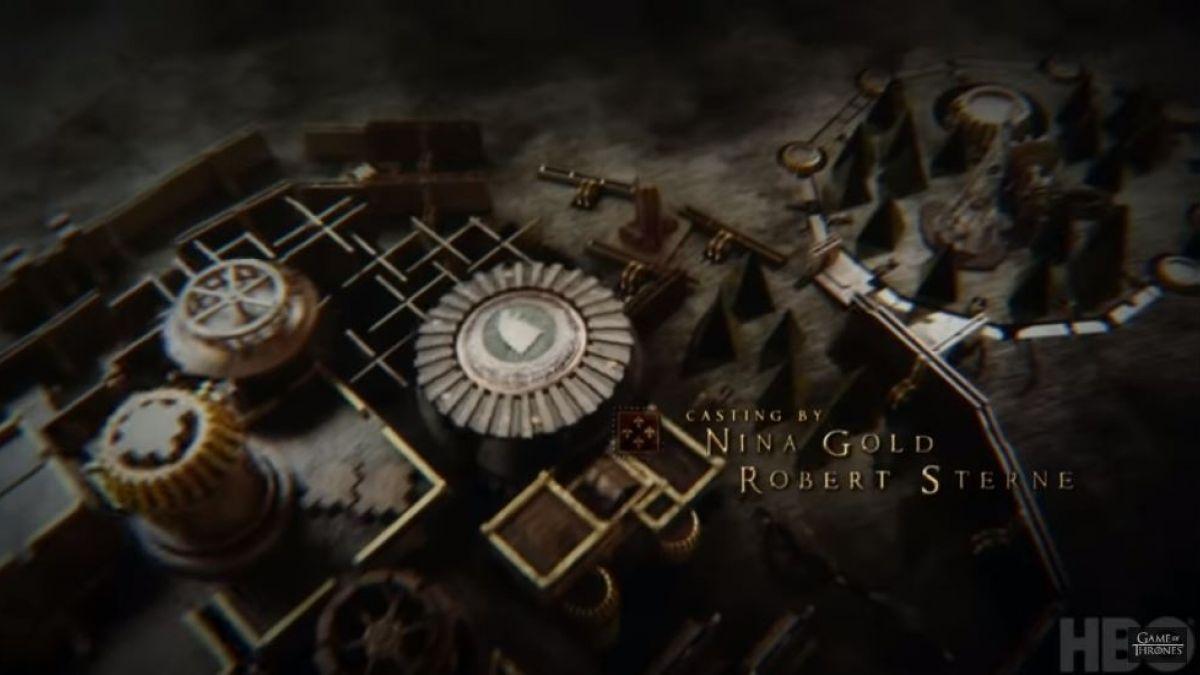 Conoce Cómo Nació El Característico Mapa De Game Of Thrones Tele 13