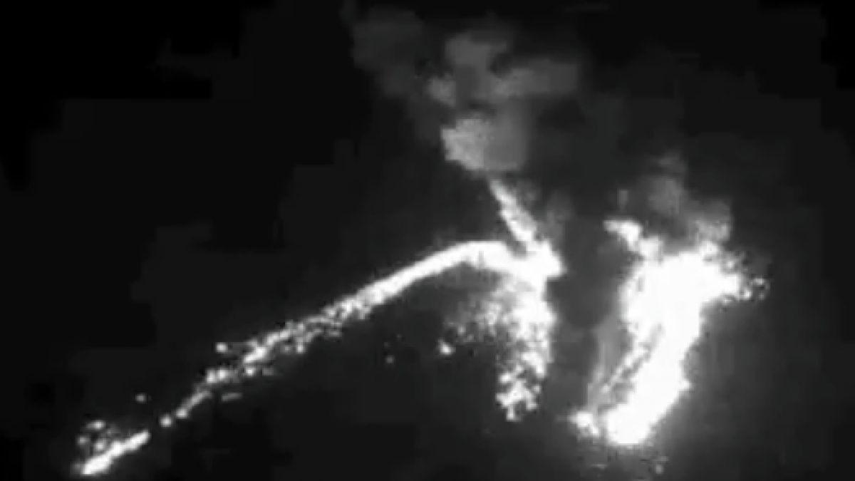 Reportan fuerte explosión en cráter principal del complejo volcánico Nevados de Chillán