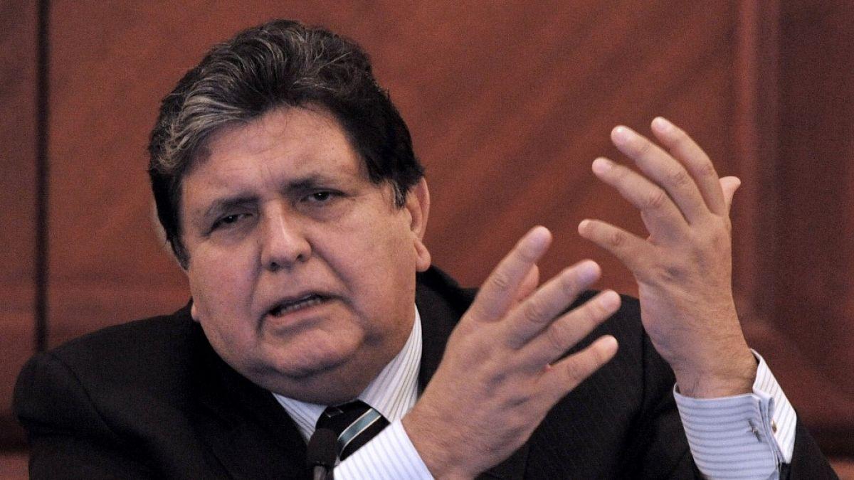Alan García muere tras dispararse cuando iba a ser detenido por corrupción