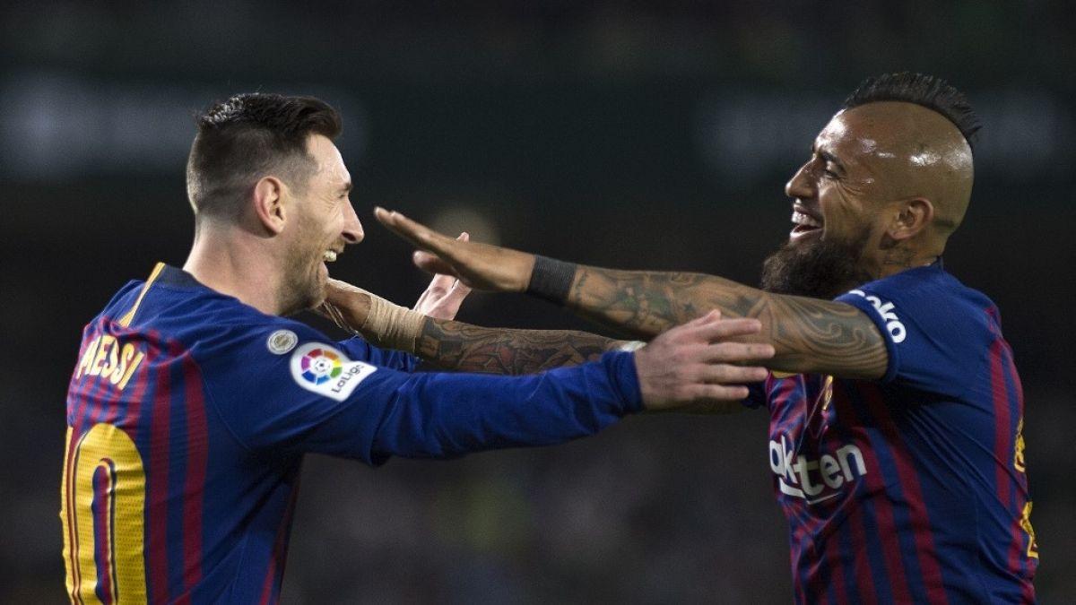 Barcelona vs. Valencia: Horario y dónde ver a Arturo Vidal en la final de la Copa del Rey