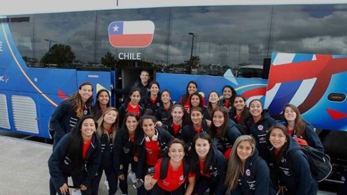 ¡Ya están en Francia! La recepción a las jugadoras de la Roja a días de su debut mundialista
