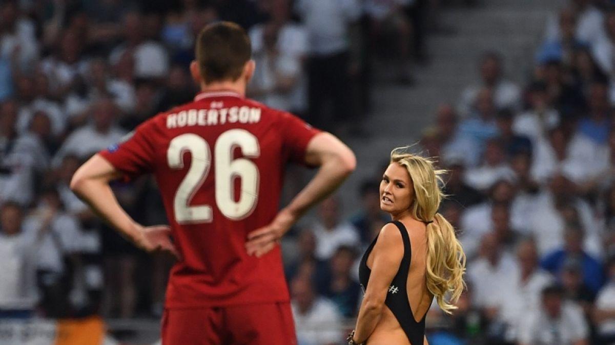 Mujer que invadió la cancha en final de la Champions: Jugadores del Liverpool me enviaron mensajes