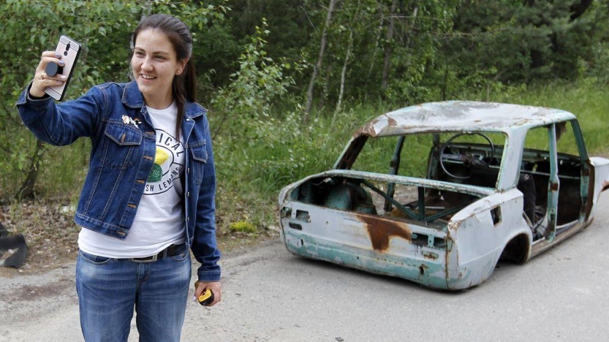 Chernobyl: las fotografías de turistas que generan polémica en Chernóbil