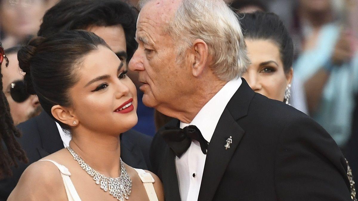 Selena Gomez reveló al fin qué le dijo Bill Murray al oído durante el Festival de Cannes