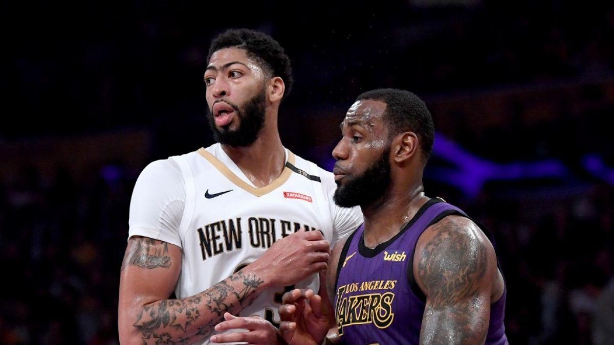 Anthony Davis es traspasado a los Lakers y jugará con LeBron James