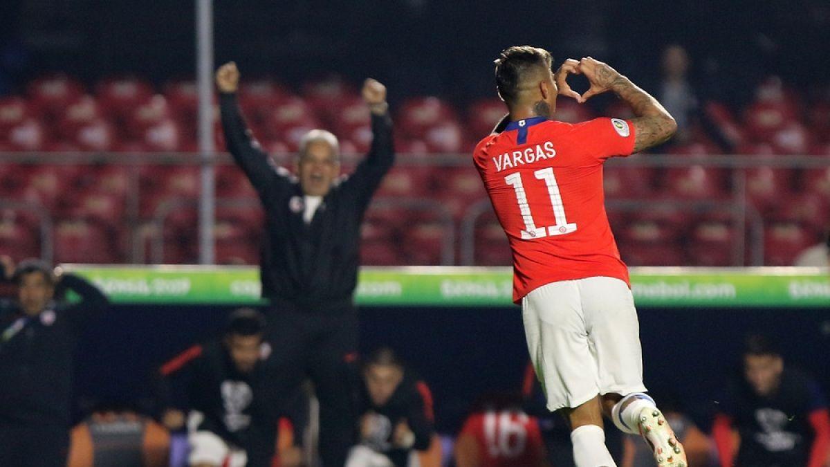 El gol con el que Eduardo Vargas superó a Marcelo Salas en la lista de goleadores de la Roja