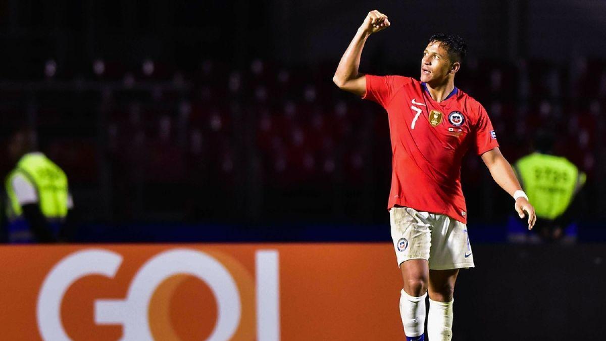 La nueva marca que superó Alexis Sánchez con la victoria de La Roja en Copa América