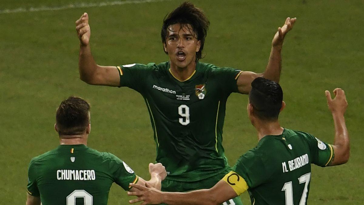Bolivia, Venezuela, Brasil, Perú, Copa América