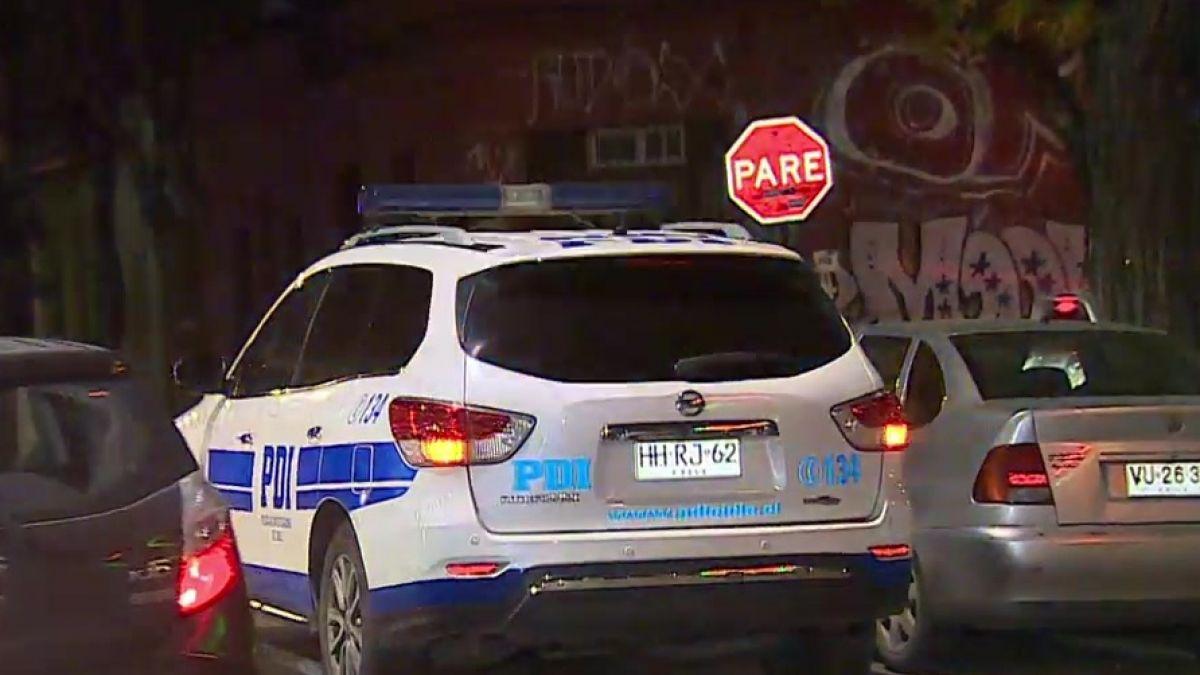 Funcionarios PDI frustran portonazo en la comuna de Santiago y detienen a un delincuente