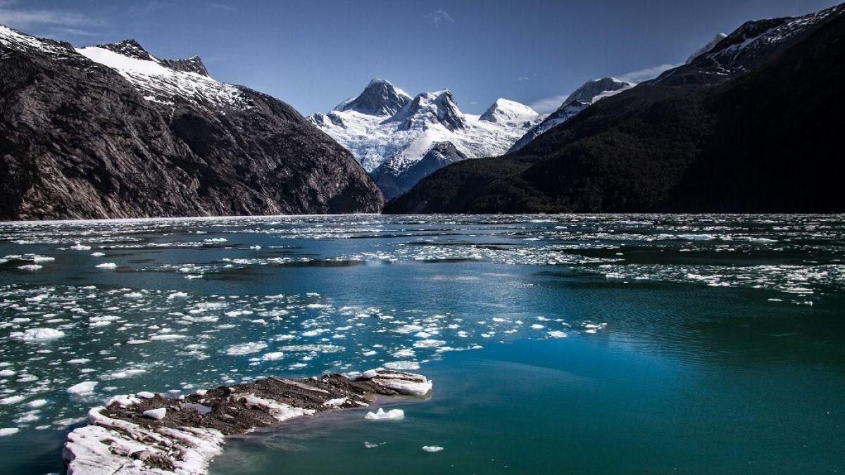 Estudio indica que retroceso de glaciares en Patagonia chilena reduce fitoplancton