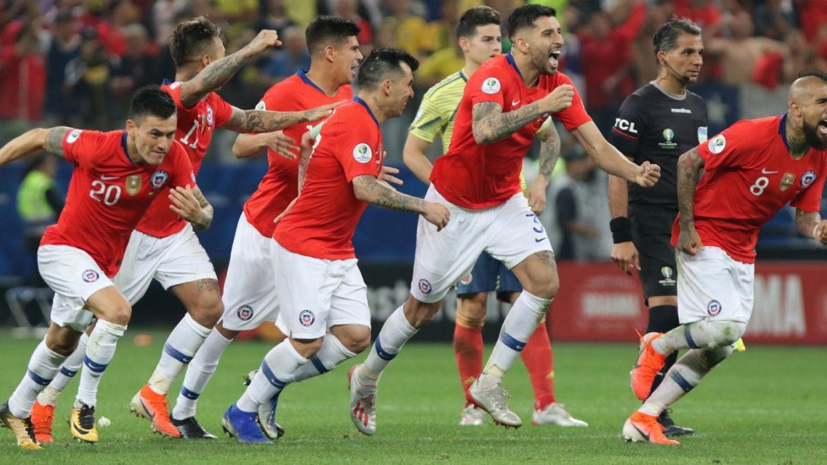 Resultado de imagen para Colombia – Chile