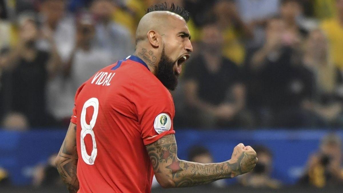 Tenemos un equipo que no se rinde: El mensaje de Vidal tras el fin de la Copa América para Chile