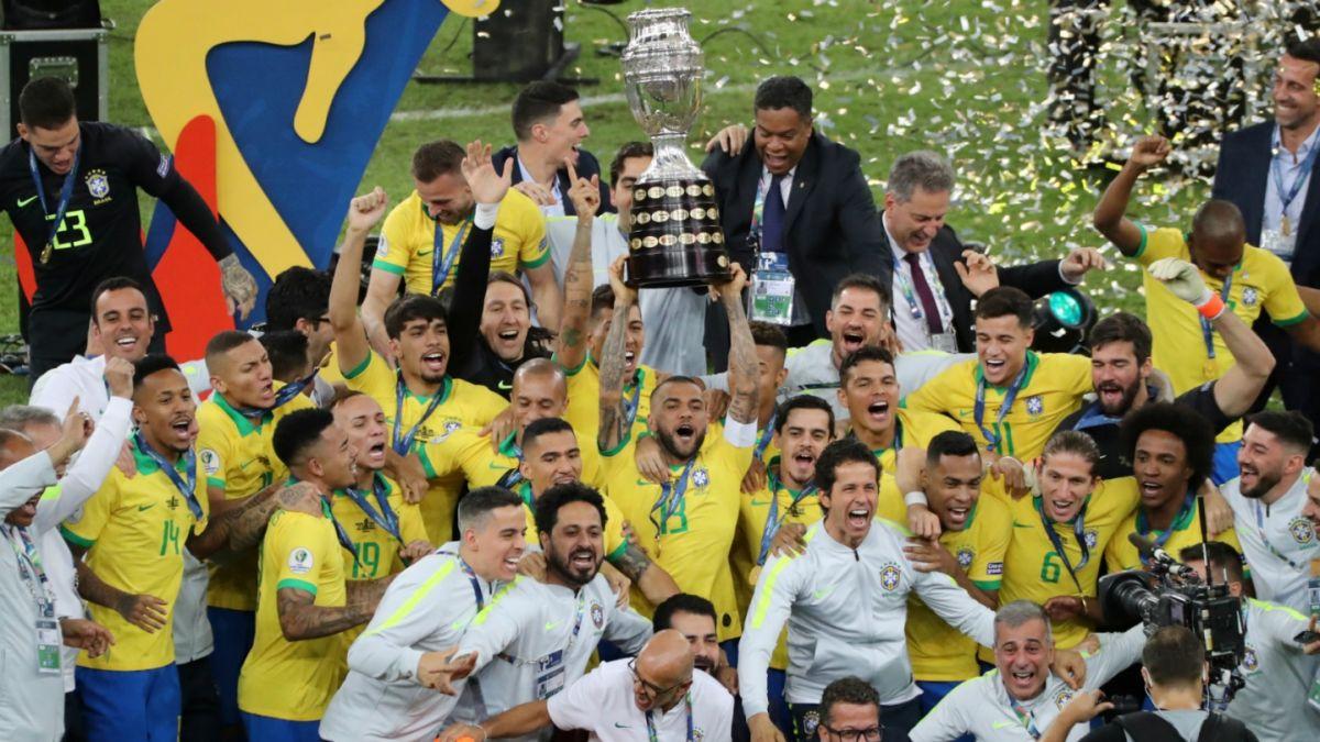 Resultado de imagen para brasil campeon de america