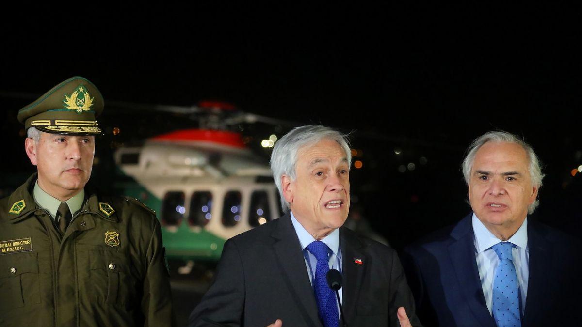 Piñera tras participar de operativo aéreo antiportonazo: Ha dado resultados muy positivos