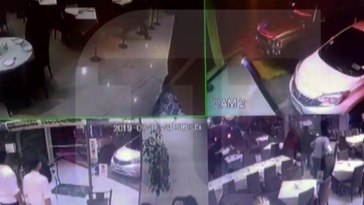 San Bernardo: delincuentes roban restaurante de comida china y sustraen vehículo durante persecución