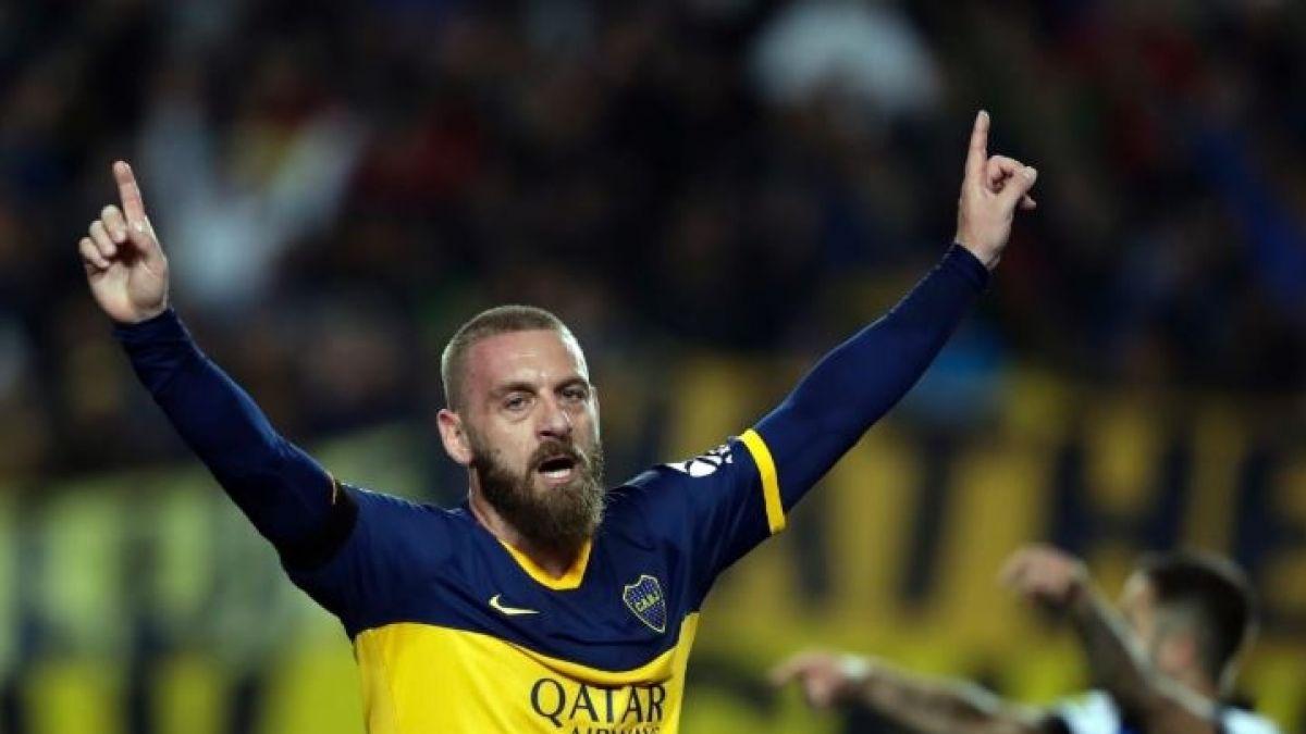 Italiano De Rossi debuta en Boca Juniors con un gol de cabeza