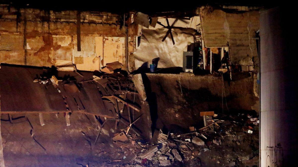 Revelan angustiante registro de los primeros momentos del derrumbe de vivienda en Valparaíso