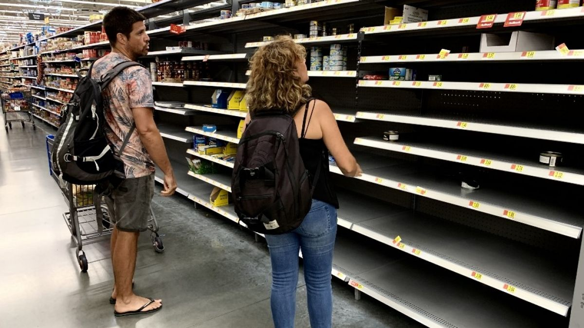 Resultado de imagen para Al menos 61.000 personas afectadas por el huracán Dorian en las Bahamas tendrían necesidad de ayuda alimentaria, indicó este martes la ONU.