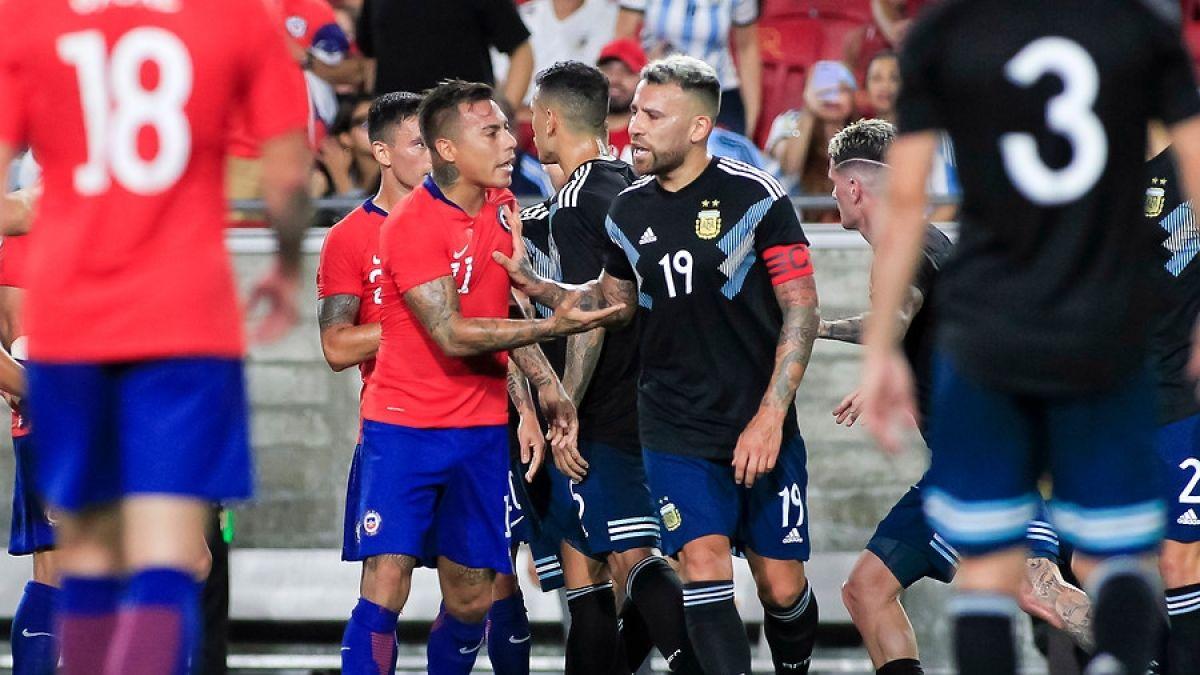 Chile empata ante Argentina en un discreto amistoso en Los Ángeles
