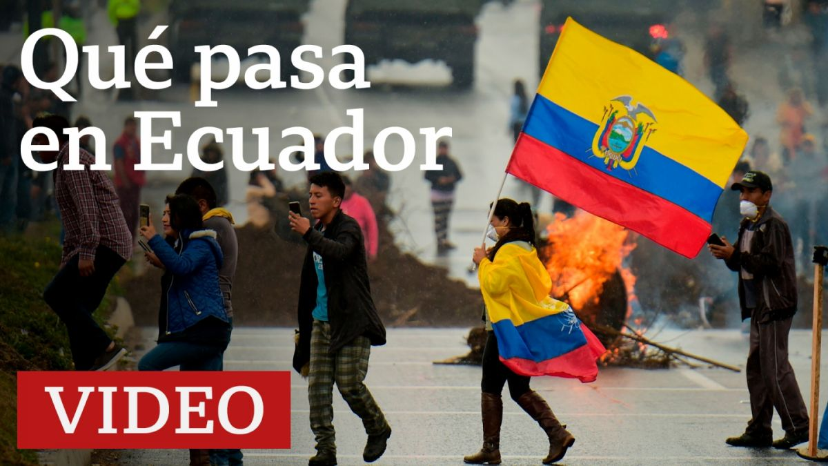 Resultado de imagen para ecuador en crisis
