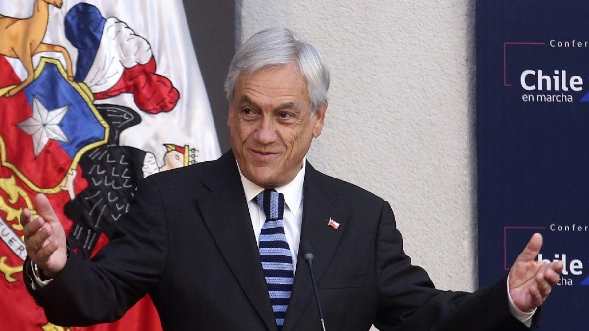 Cadem: Apoyo al Presidente Sebastián Piñera baja al 13% a dos semanas de inicio de protestas