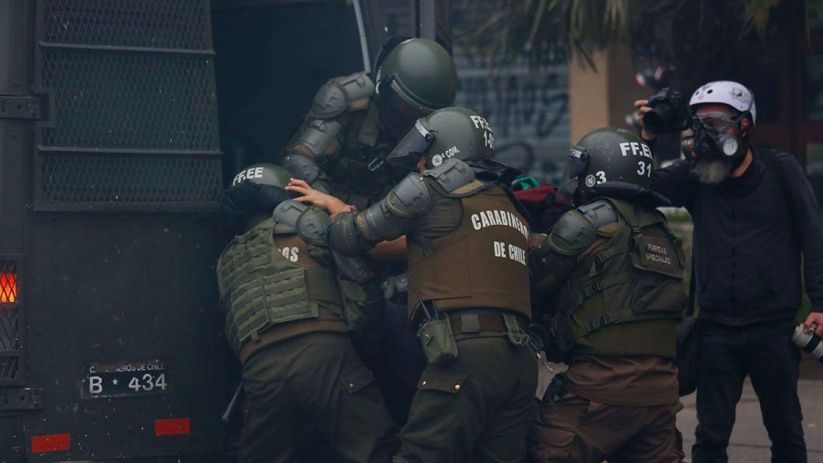 Acogen recurso contra jefe de la Defensa Nacional por tratos vejatorios de Carabineros en Quilpué