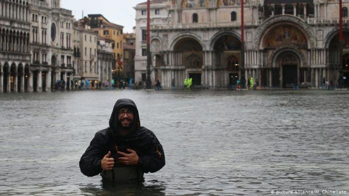 Emergencia en Venecia por histórica marea alta