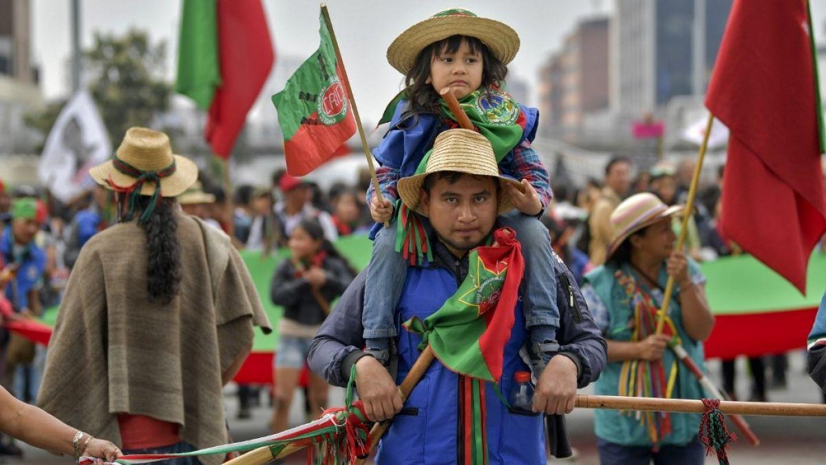 En Colombia, indígenas lideran jornada de protestas