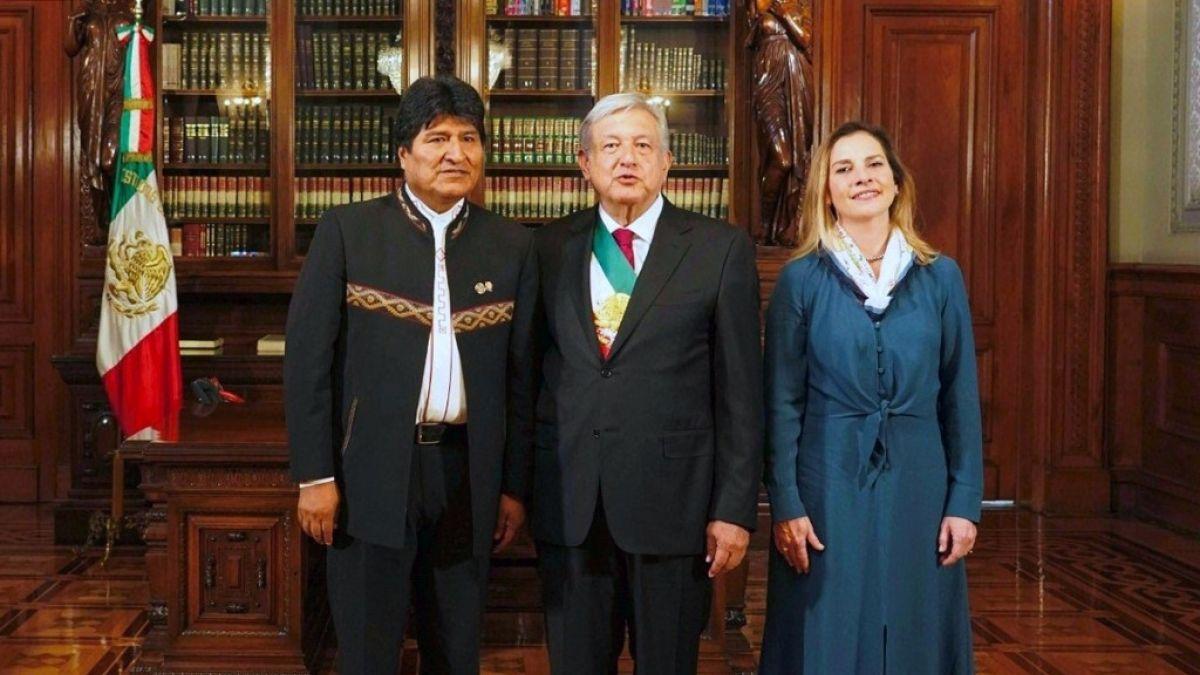 AMLO justifica asilo a Evo Morales y recalca que fue víctima de un golpe de Estado