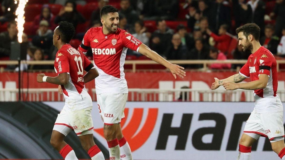 El particular chilenismo del Mónaco para celebrar el primer gol de Maripán en el fútbol francés