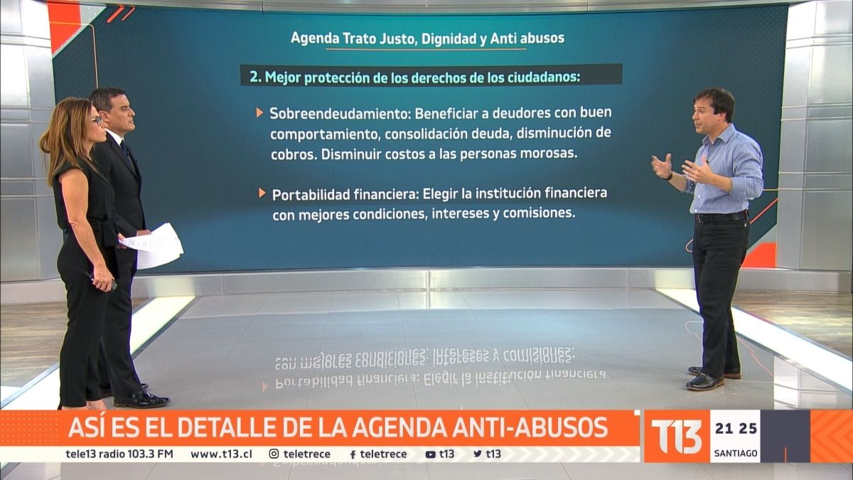 Ministro de Economía explica en qué consisten las medidas anti abusos anunciadas por Piñera
