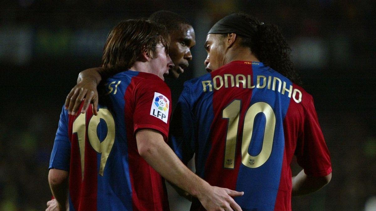 Ronaldinho: No puedo decir que Messi sea el mejor de la historia, sí que es el mejor en su época