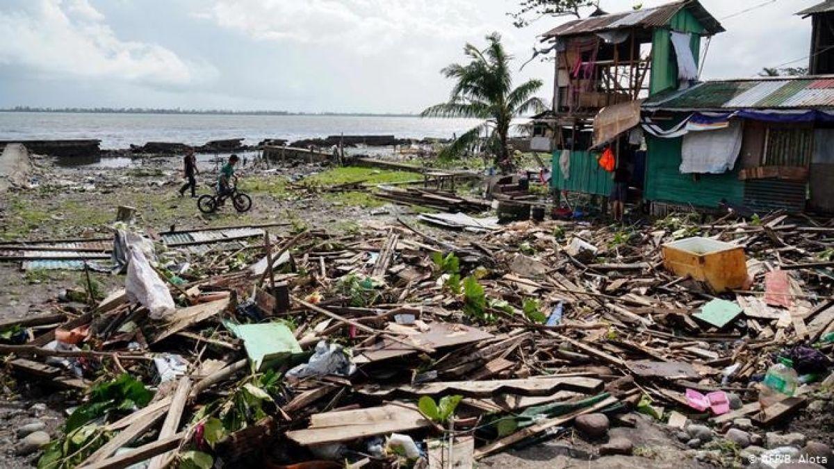 Filipinas: tifón Phanfone causa al menos 16 muertos
