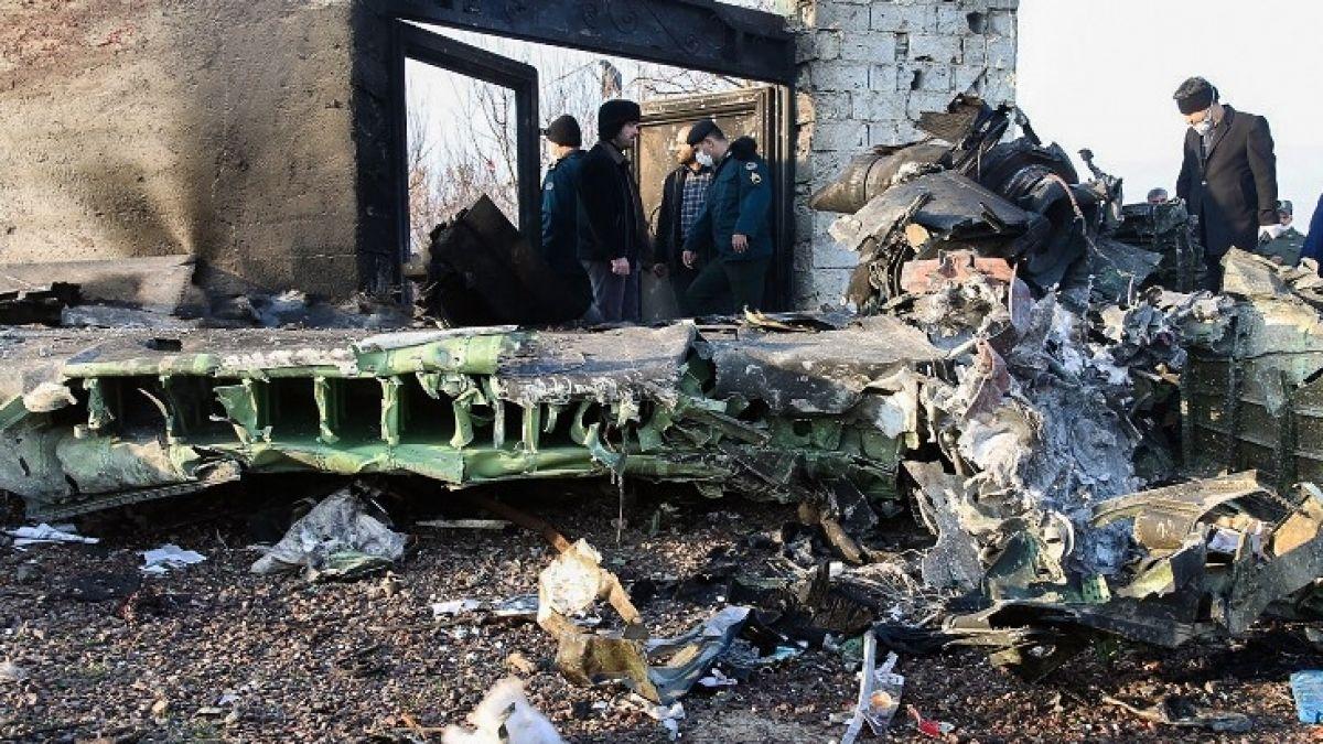 Avión ucraniano estrellado en Teherán provoca la muerte de por lo menos 170 personas