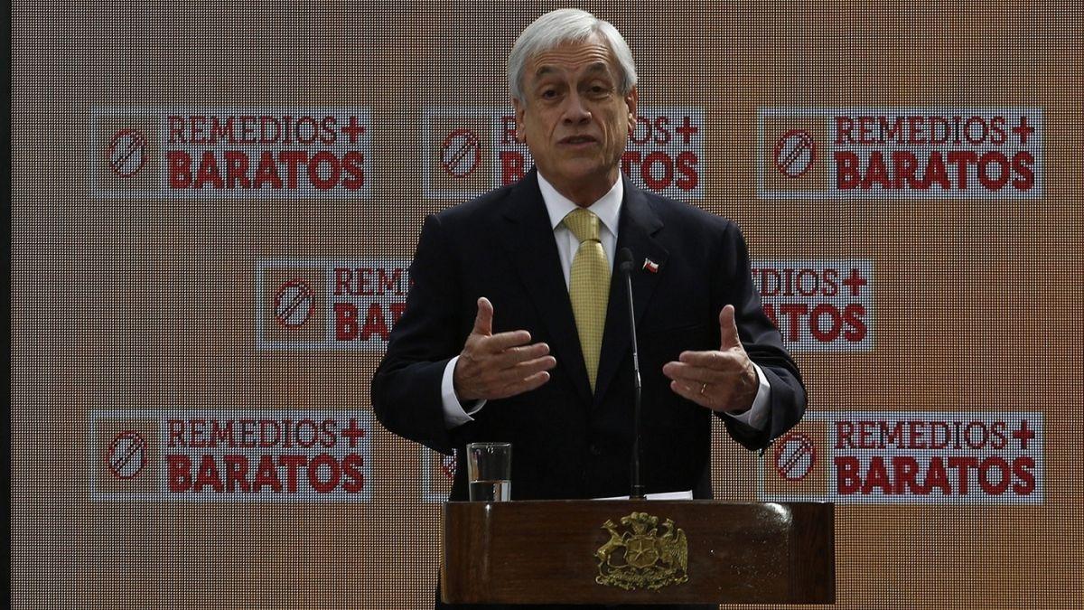 Piñera: Algunos laboratorios llevan demasiado tiempo abusando de demasiados chilenos
