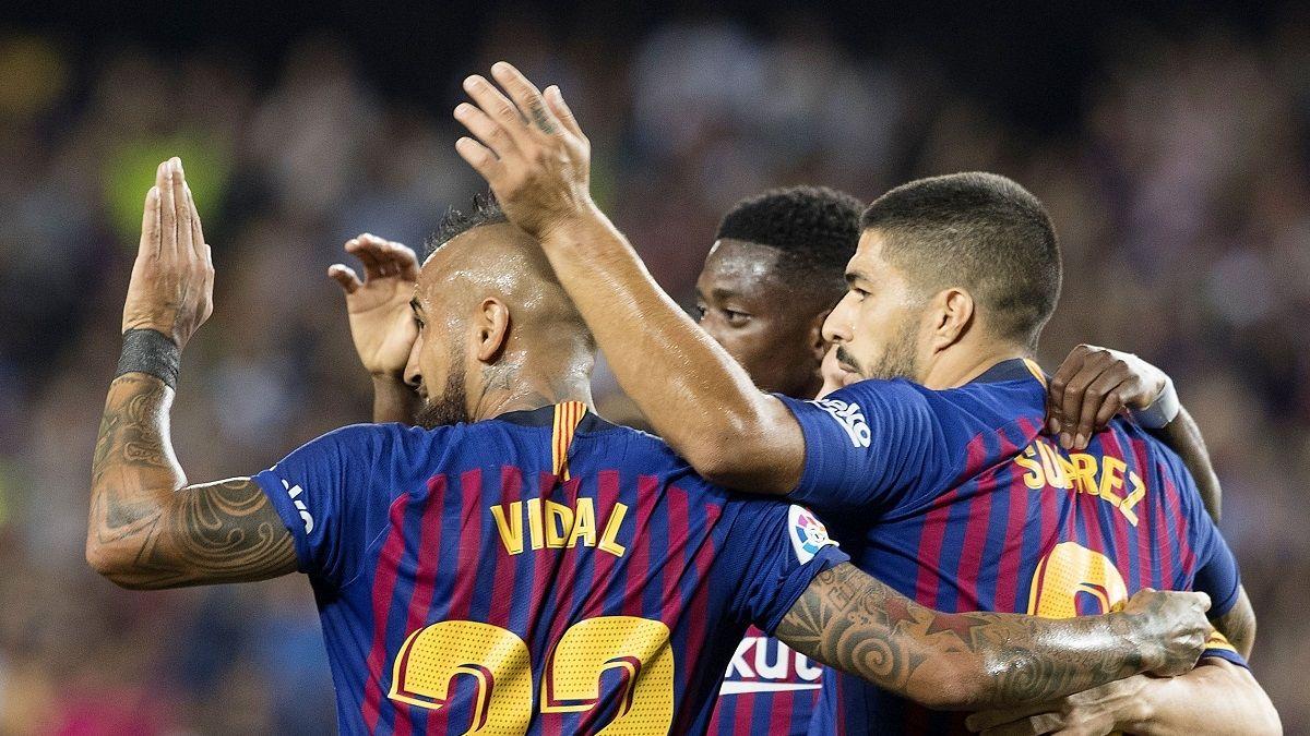 Arturo Vidal a Luis Suárez: Volverás más fuerte que nunca