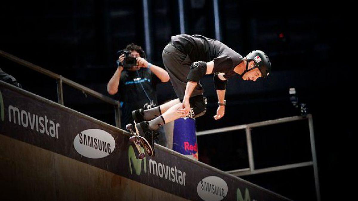 Tony Hawk deleitó a fanáticos en el Jump Fest