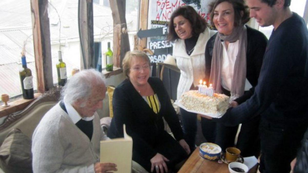 Nicanor Parra y el centenario de su cumpleaños en 12 frases