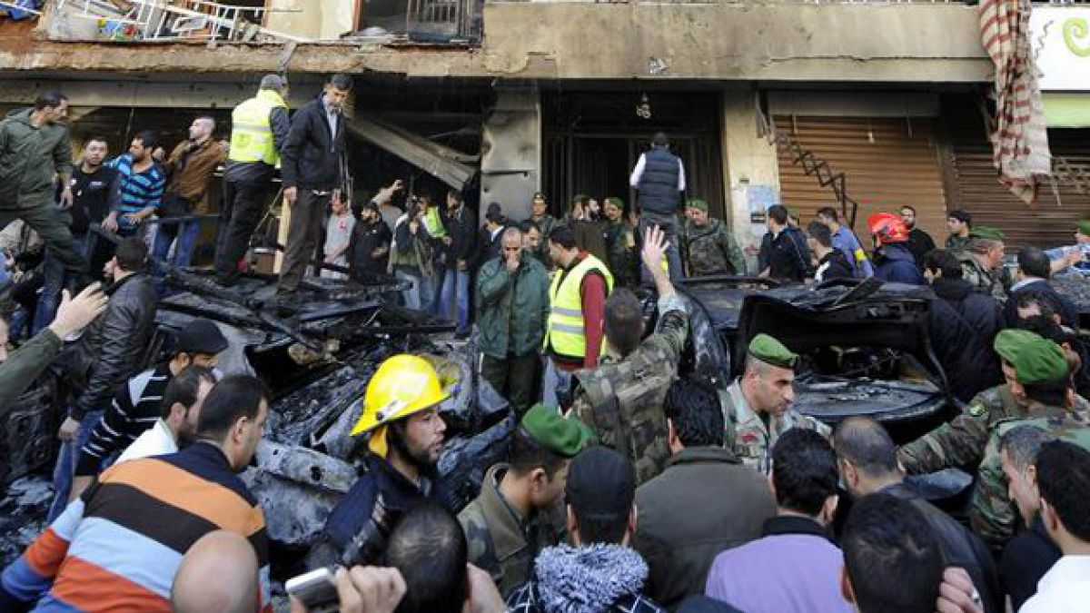 Nuevo atentado en Beirut deja al menos cuatro fallecidos