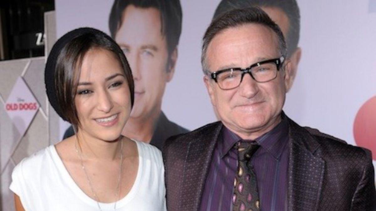 Hija de Robin Williams escribe emotivo mensaje para despedir a su padre