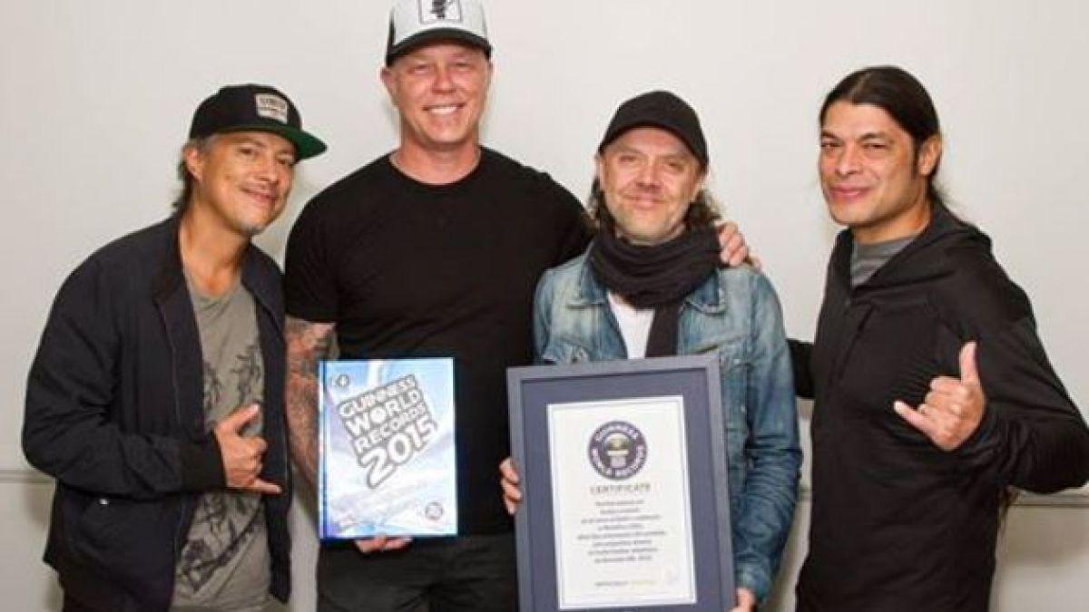 Concierto en la Antártica le permite a Metallica obtener Récord Guinness