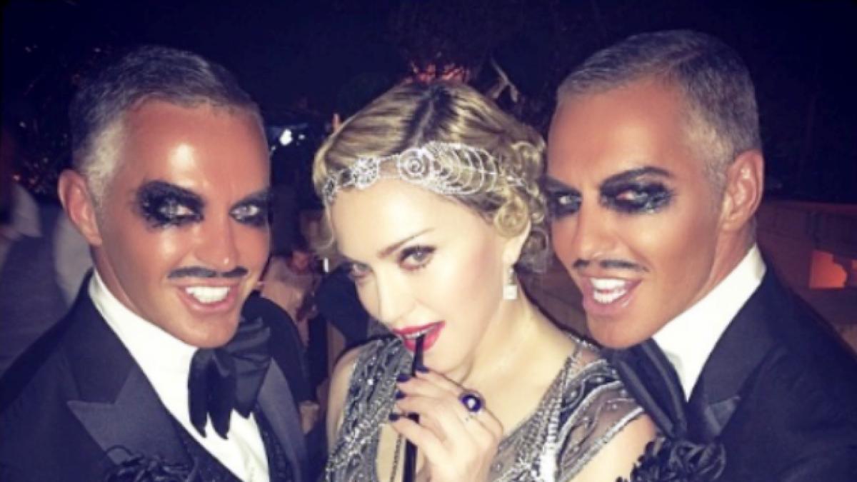 [FOTOS] Así fue la fiesta de cumpleaños de Madonna