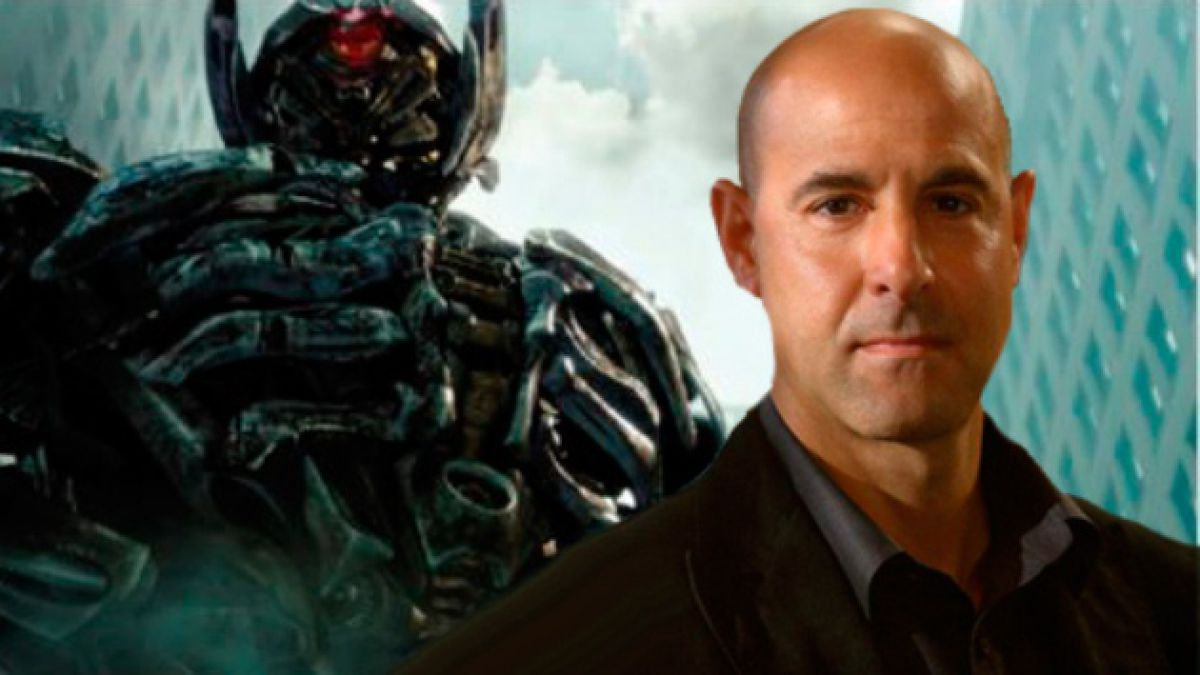 Stanley Tucci: En Transformers 4 hay explosiones como nunca antes había visto.
