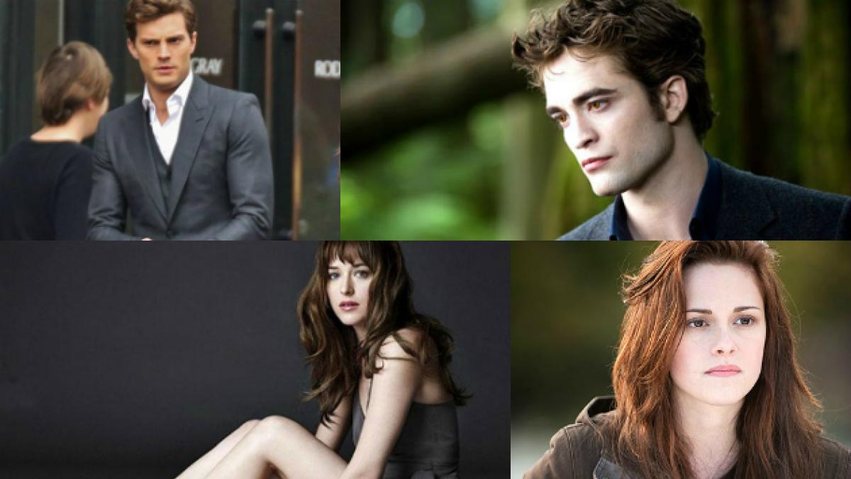 """""""Crepúsculo"""" y """"50 sombras de Grey"""": Las adaptaciones cinematográficas frente a frente"""