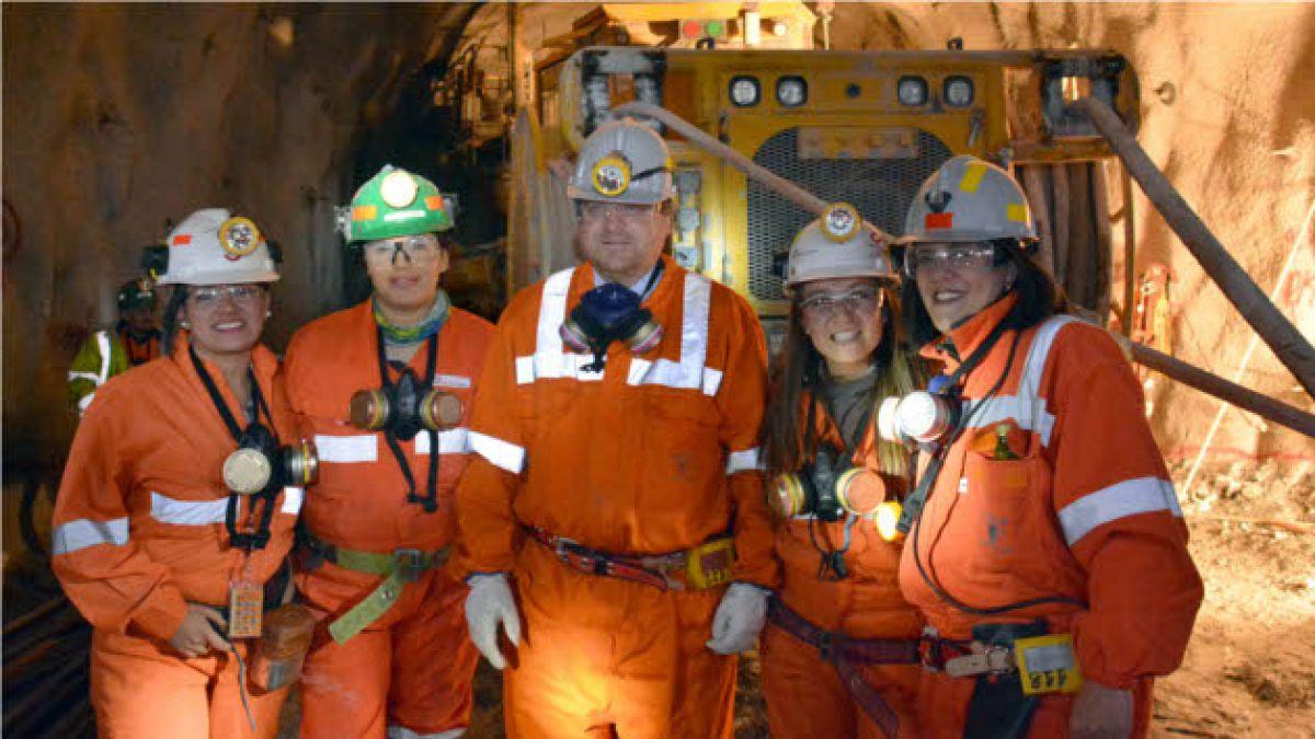 De Solminihac apoya ingreso de la mujer al trabajo minero