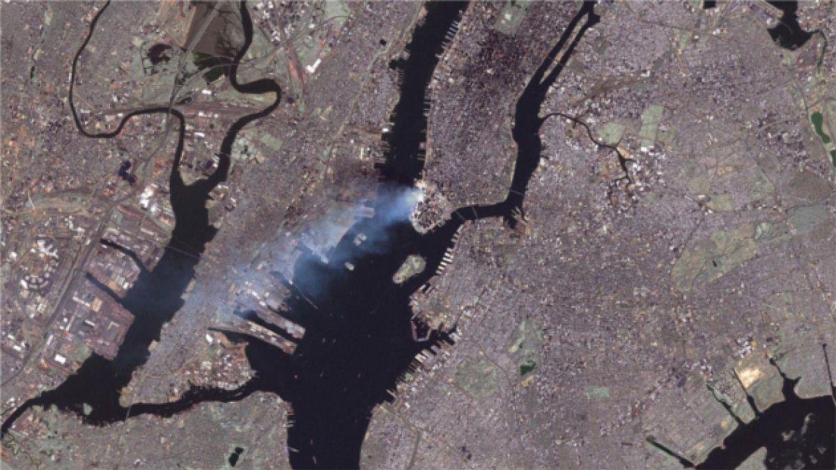 Revelarán el video completo de los atentados del 11-S vistos desde el espacio